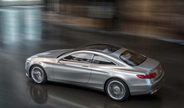 Mercedes Benz Clase S Coupé Concept Lateral1