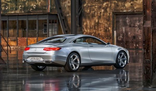 Mercedes Benz Clase S Coupé Concept Trasera