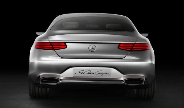 Mercedes Benz Clase S Coupé Concept Trasera1