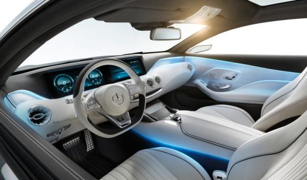 Mercedes Benz Clase S Coupé Concept Interior