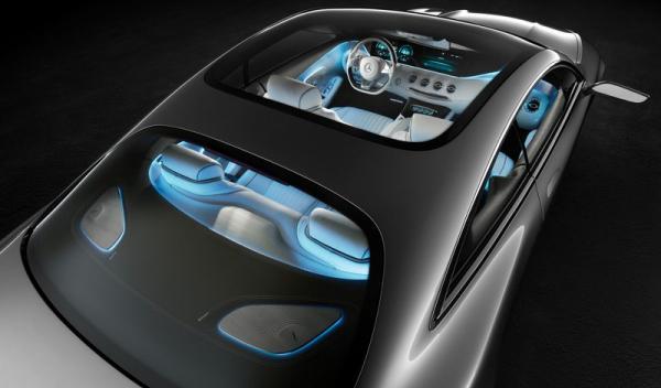 Mercedes Benz Clase S Coupé Concept Superior