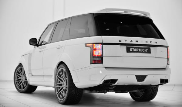 Range Rover Startech trasera