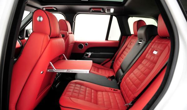 Range Rover Startech asientos traseros