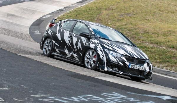 Frontal del Nuevo Honda Civic Type-R