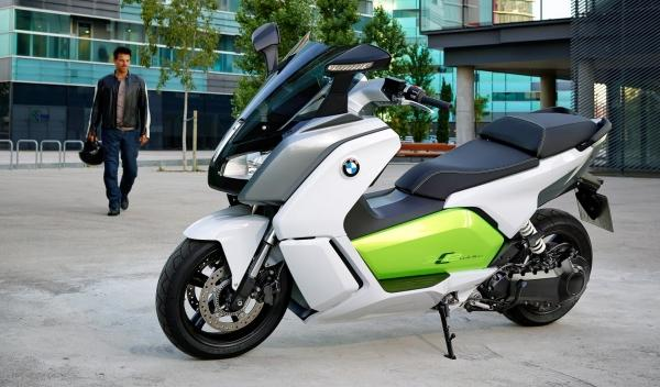 BMW C Evolution Lateral