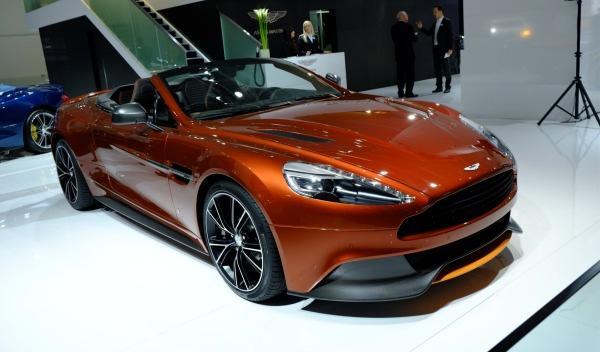 Aston Martin Vanquish Volante Frankfurt
