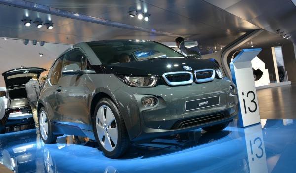 BMW i3 de producción frankfurt