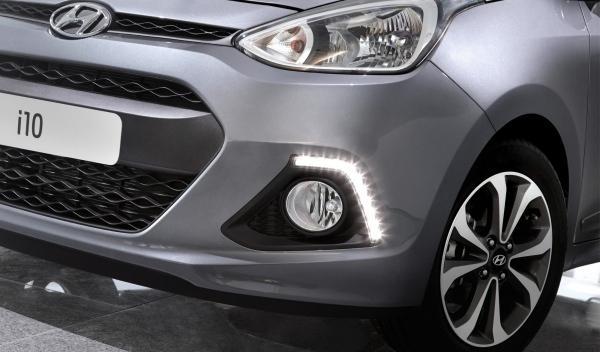 Hyundai i10 2014 Luces Diurnas