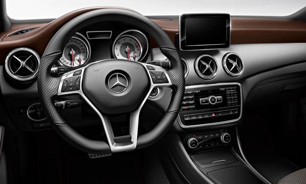 Mercedes GLA Edition 1 interior