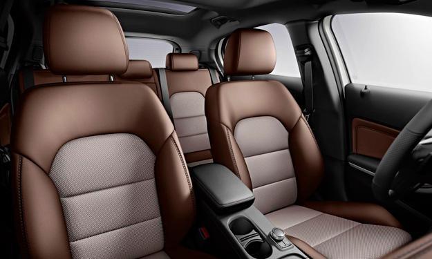 Mercedes GLA Edition 1 asientos