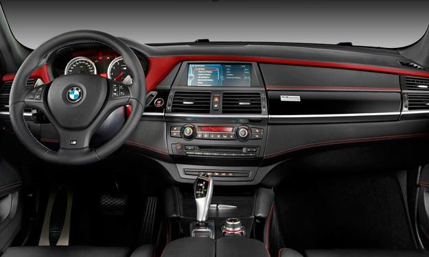 BMW X6 M Design Edition interior