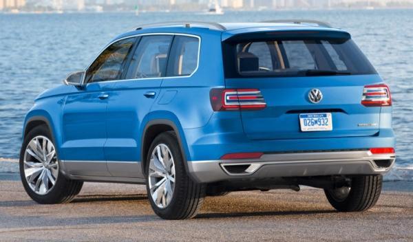 Volkswagen CrossBlue trasera
