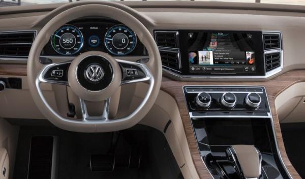 Volkswagen CrossBlue salpicadero