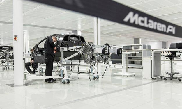 McLaren P1 producción