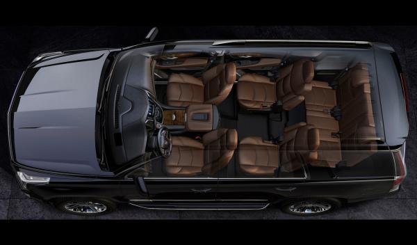 Cadillac Escalade cenital