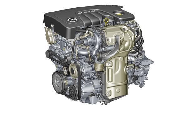Opel Meriva 2014 motor
