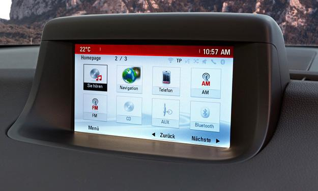 Opel Meriva 2014 navegador