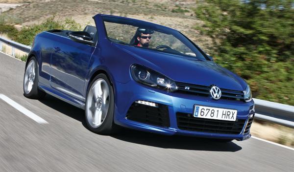 Volkswagen Golf Cabrio R delantera
