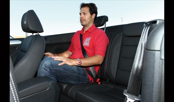 Volkswagen Golf Cabrio R plazas traseras