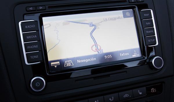 Volkswagen Golf Cabrio R plazas navegador