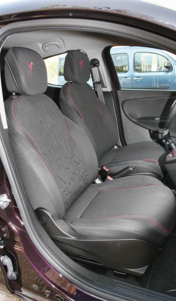 Lancia Elefantino asientos delanteros