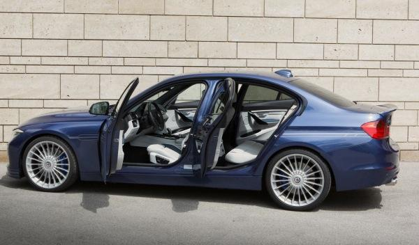 El BMW Alpina Biturbo D3