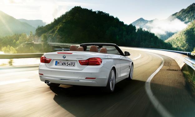 BMW Serie 4 Cabrio trasera