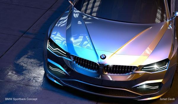 BMW Sportback Concept delantera