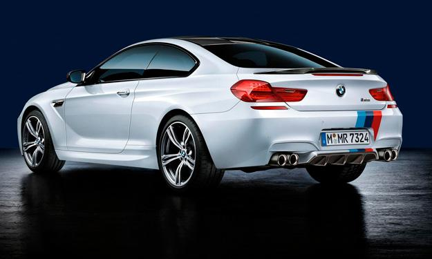 BMW M6 M Performance trasera