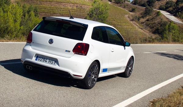 VW Polo R WRC trasera