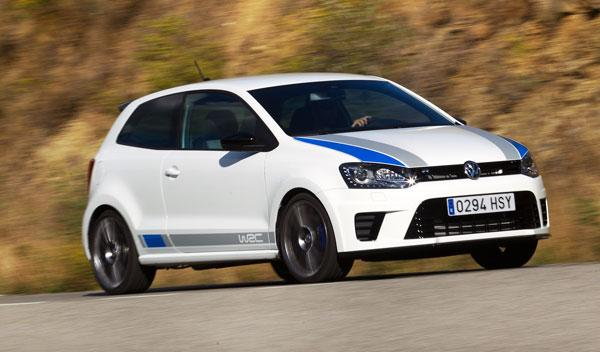 VW Polo R WRC lateral