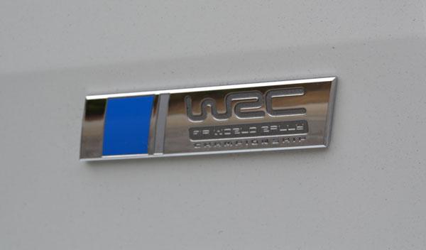 VW Polo R WRC emblema