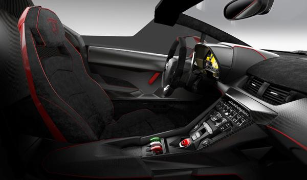 Lamborghini Veneno Roadster interior