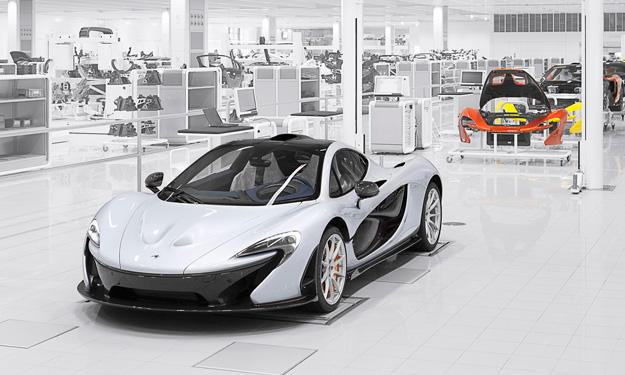 McLaren P1 delantera