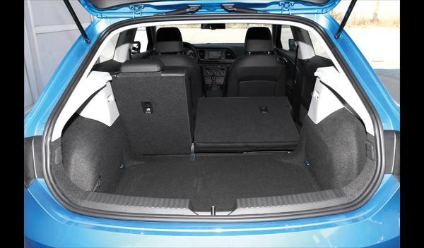 Seat León SC TDI 105 maletero y asientos abatidos