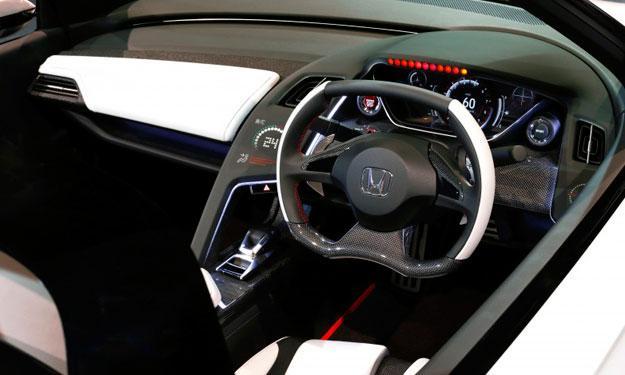 Honda S660 Concept salpicadero