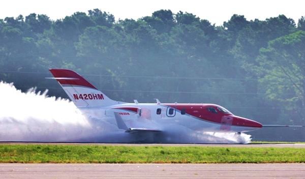 HondaJet test