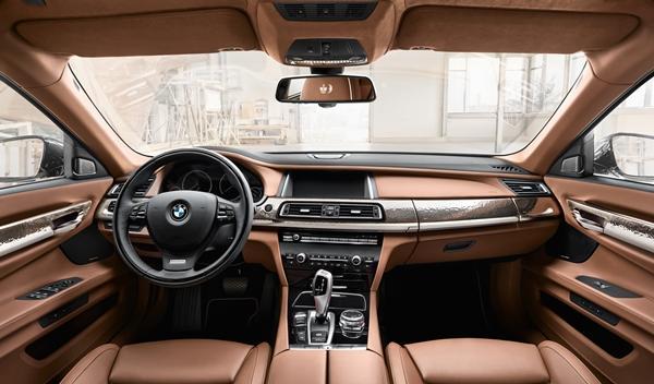BMW Individual 760Li Sterling ROBBE & BERKING interior