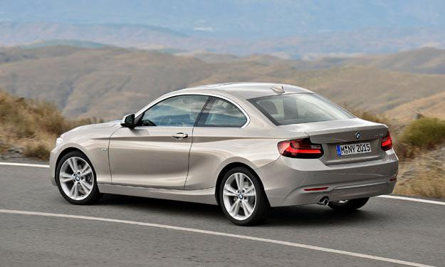 BMW Serie 2 Coupé trasera
