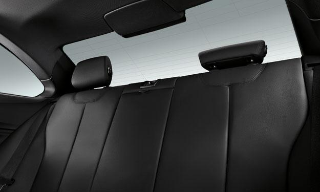 BMW Serie 2 Coupé asientos traseros