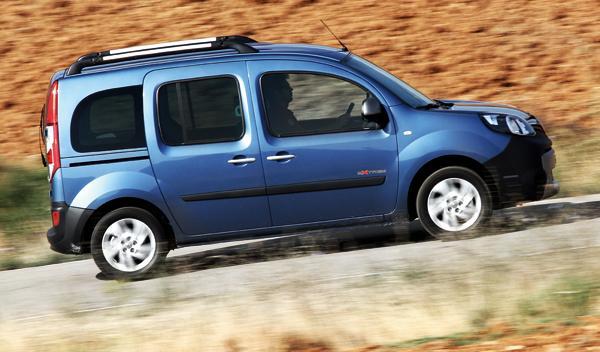 Renault Kangoo Extrem lateral