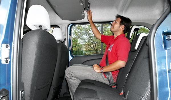 Renault Kangoo Extrem plazas traseras