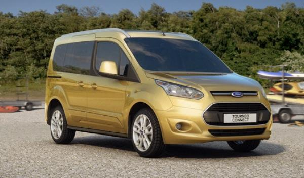 Ford Tourneo Connect 2013 frontal