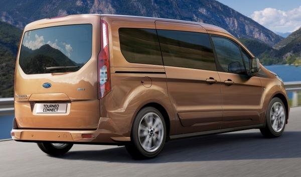 Ford Tourneo Connect 2013 trasera