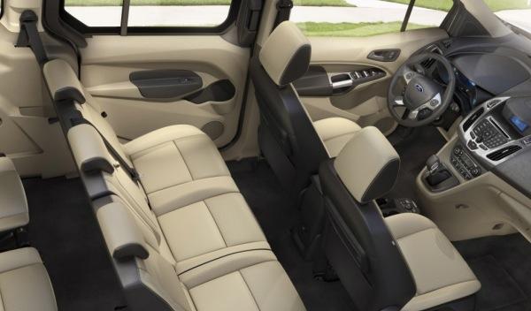 Ford Tourneo Connect 2013 interior