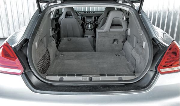 Porsche Panamera Híbrido maletero