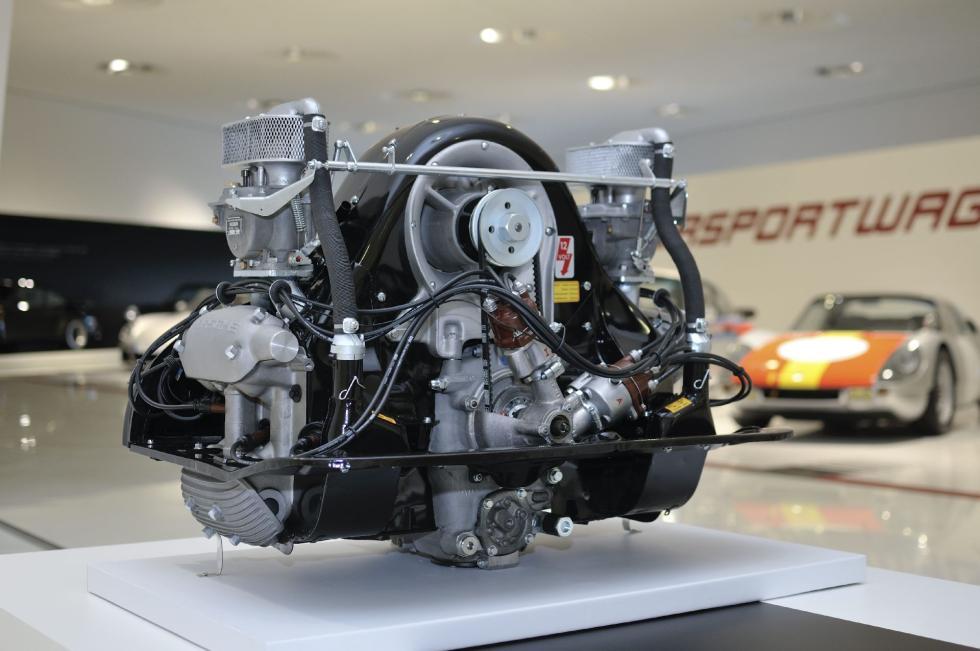 Porsche 60 años superdeportivos motor