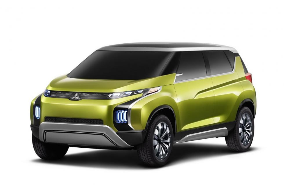 Mitsubishi Concept AR delantera