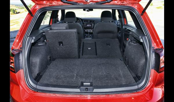 Volkswagen Golf GTD 2013 maletero