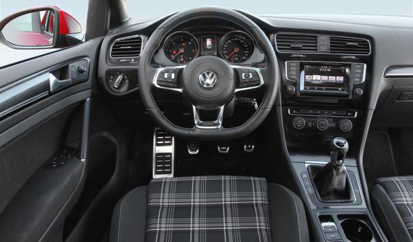 Volkswagen Golf GTD 2013 interior